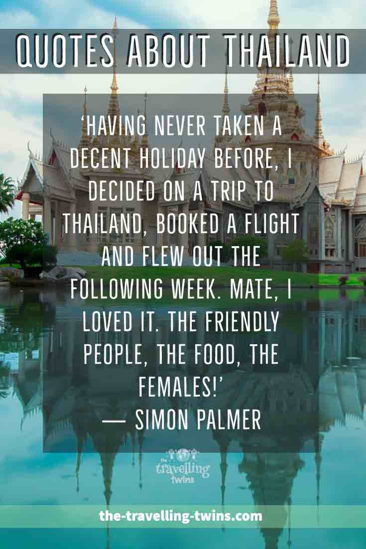 quotes about Thailand quotes