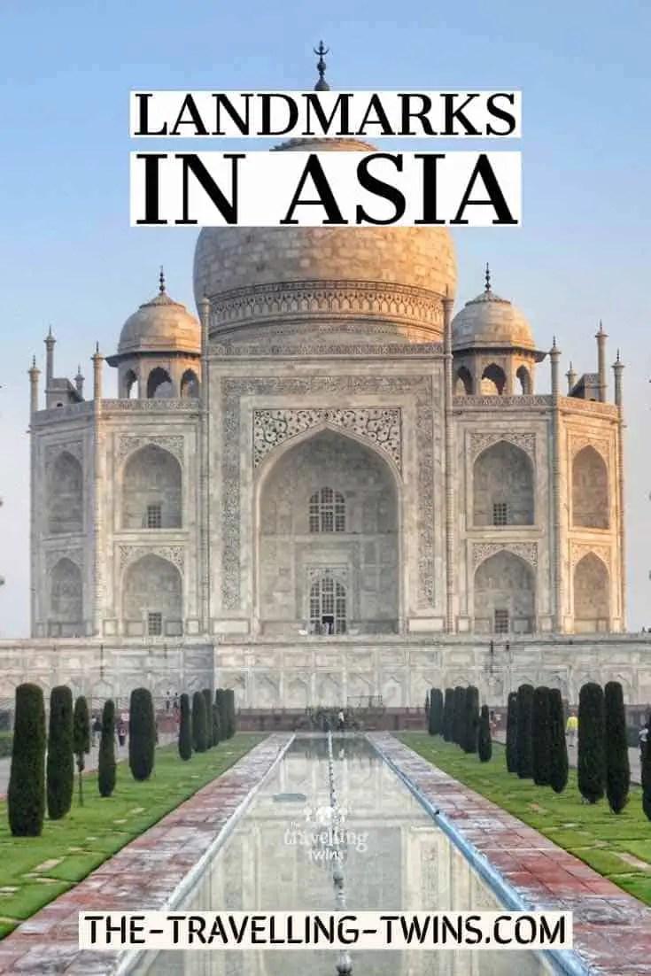 Asia landmarks India Taj Mahal