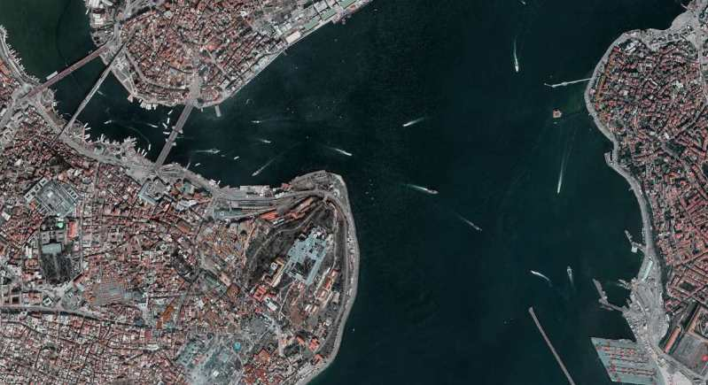 Istanbul top view