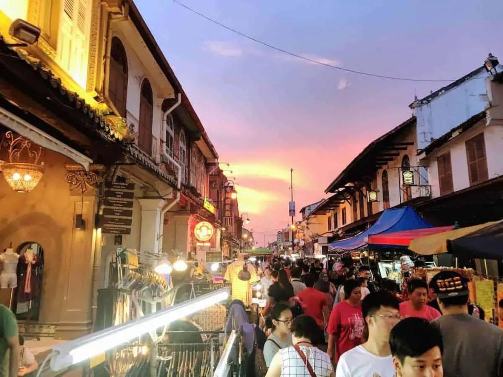 Night Market on Jonker Street - things to do in Melaka