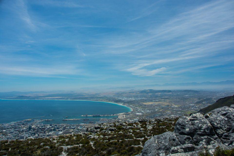 Südafrika-Aussicht-Tafelberg