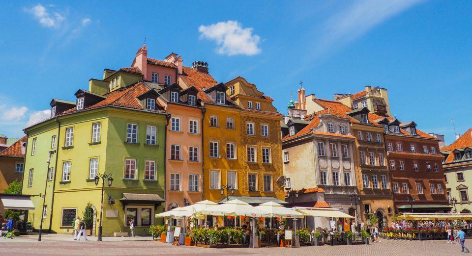 Warschau-Altstadt-Polen