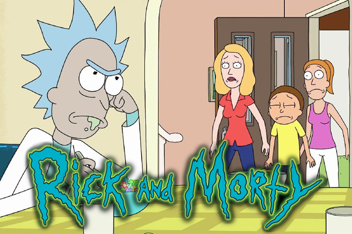 May Favourites - 2017 Rick and Morty, Adult Swim