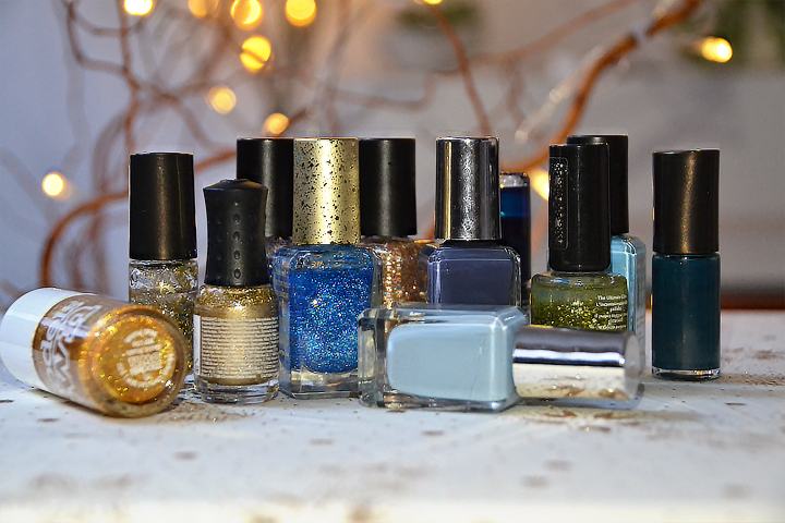 January Favourites - Blue and Gold