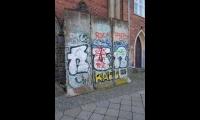 <h5>Rudolfstraße</h5><p>Rudolfstr. 14 <strong>KulturRaum Zwingli-Kirche</strong> © Andrew und Liane (via The Wall Net)<br>Datum der Aufnahme: 2018</p>
