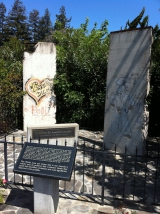 "<h5>Thanks Victorgrigas</h5><p>© <a href=""http://commons.wikimedia.org/wiki/File:A_portion_of_the_Berlin_Wall_In_Mountian_View,_California.jpg#mediaviewer/File:A_portion_of_the_Berlin_Wall_In_Mountian_View,_California.jpg"" target=""_blank"" >A portion of the Berlin Wall In Mountian View, California</a>"" by <a href=""//commons.wikimedia.org/wiki/User:Victorgrigas"" title=""User:Victorgrigas"" target=""_blank"" >Victorgrigas</a> - <span class=""int-own-work"">Own work</span>. Licensed under <a href=""http://creativecommons.org/publicdomain/zero/1.0/deed.en"" title=""Creative Commons Zero, Public Domain Dedication"" target=""_blank"" >CC0</a> via <a href=""//commons.wikimedia.org/wiki/"" target=""_blank"" >Wikimedia Commons</a>. </p>"