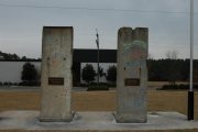 """<h5>Thanks Michael Sean Nix</h5><p><a href=""""http://commons.wikimedia.org/wiki/File:Sections_of_Berlin_Wall_at_in_Spartanburg.jpg#mediaviewer/File:Sections_of_Berlin_Wall_at_in_Spartanburg.jpg"""" target=""""_blank"""">Sections of Berlin Wall at in Spartanburg</a>"""" by Micheal Sean Nix - <a class=""""external free"""" href=""""http://www.hmdb.org/marker.asp?marker=14171&Result=1"""" target=""""_blank"""" rel=""""nofollow"""">http://www.hmdb.org/marker.asp?marker=14171&Result=1</a>. Licensed under Public domain via <a href=""""//commons.wikimedia.org/wiki/"""" target=""""_blank"""">Wikimedia Commons</a></p>"""