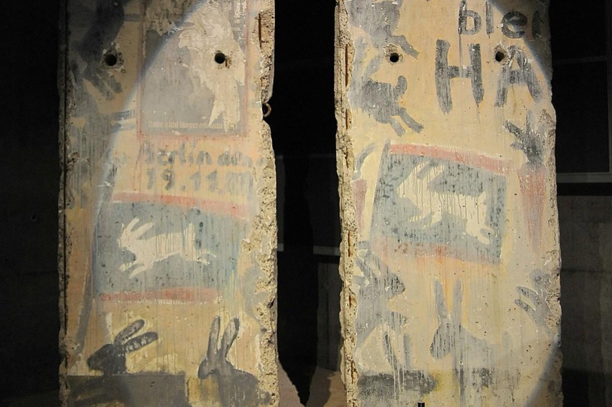 Berliner Mauer in Caen
