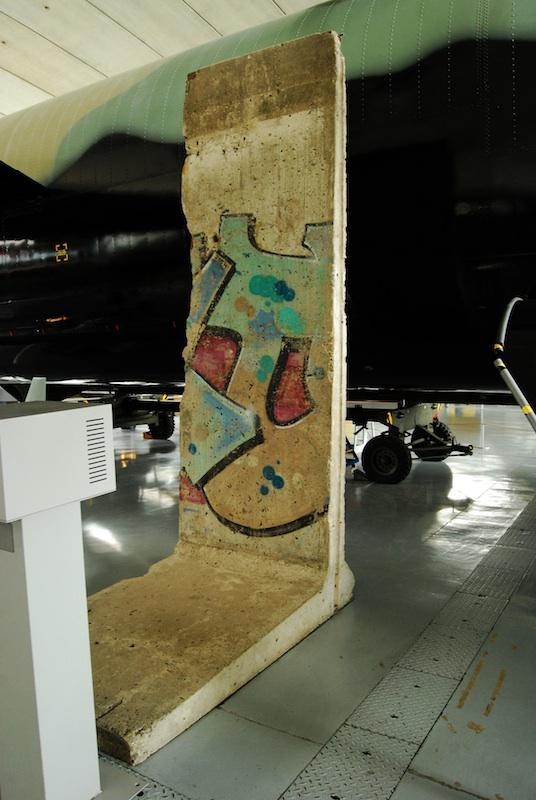 Berliner Mauer in Duxford