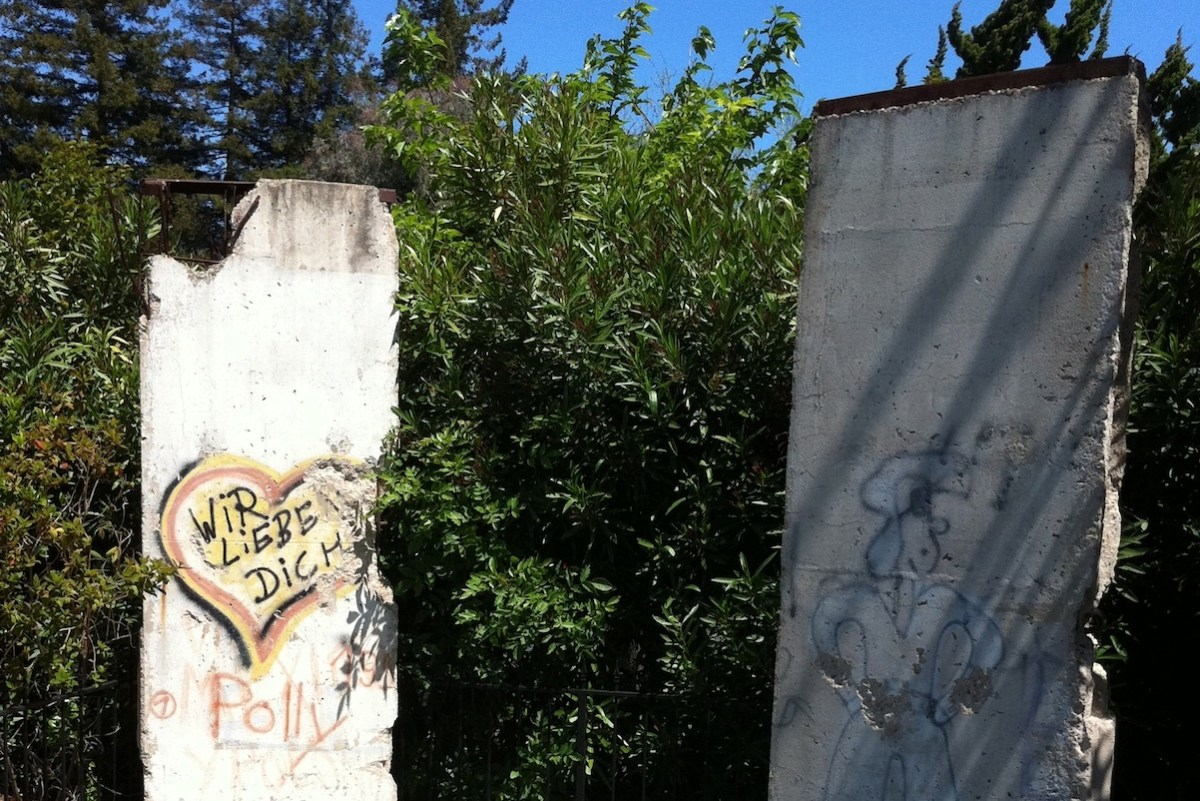 Berliner Mauer in Mountain View