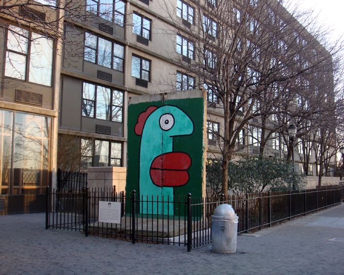 Berlin Wall New York City Battery Park