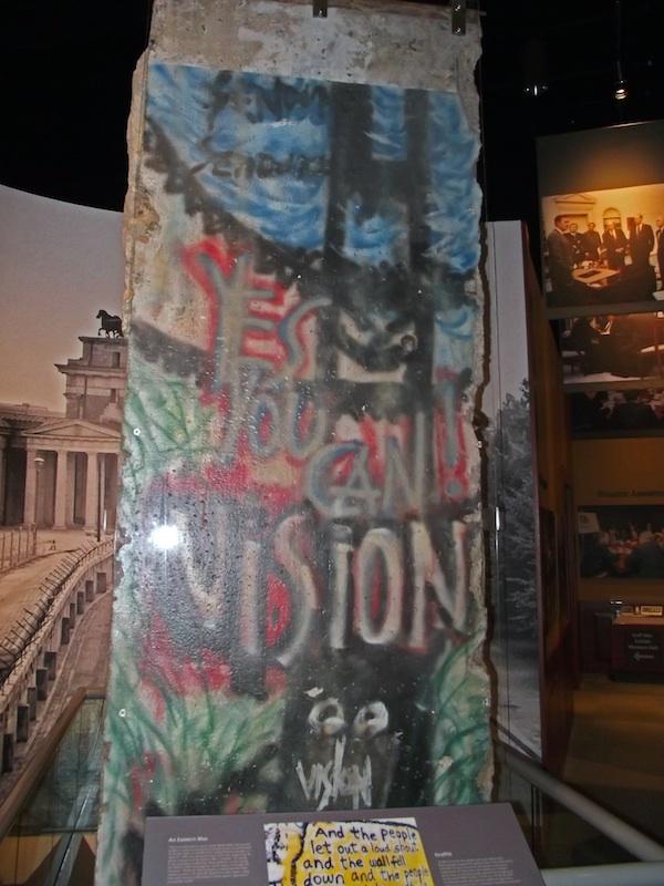 Berliner Mauer in College Station