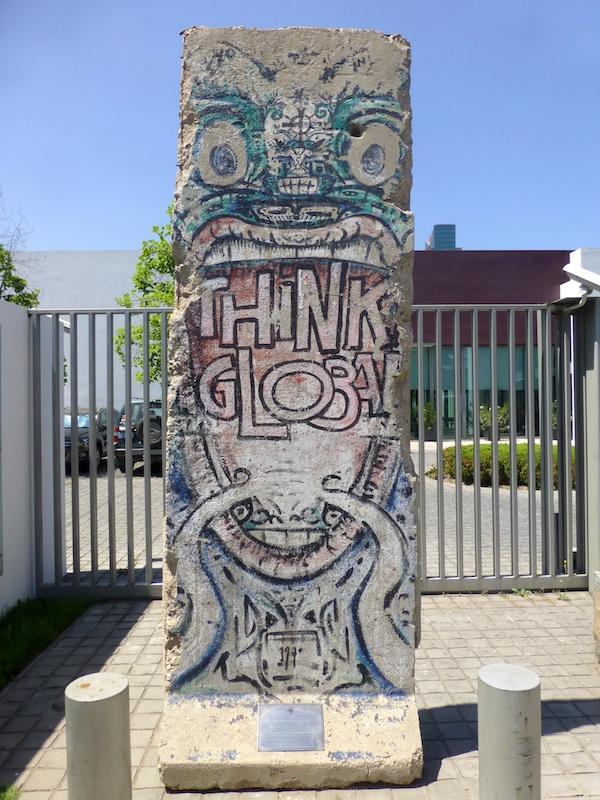 Berliner Mauer in Santiago de Chile