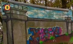 Berliner Mauer in Breda