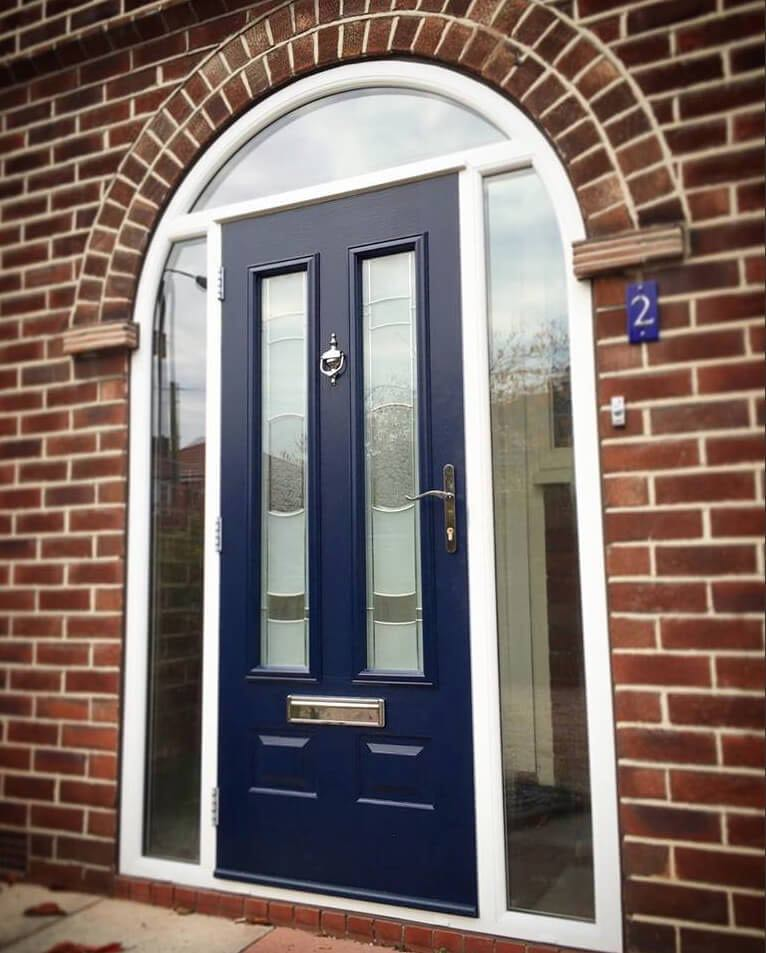 The window company manchester upvc windows doors for Arched upvc french doors