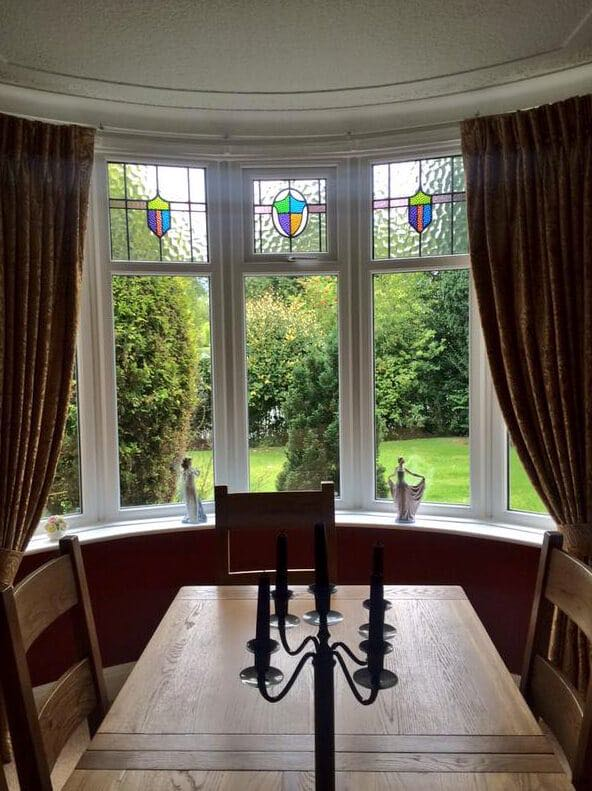 Stained Glass Bay Windows  The Window Company