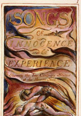 Songs of Innocence and of Experience artwork by William Blake