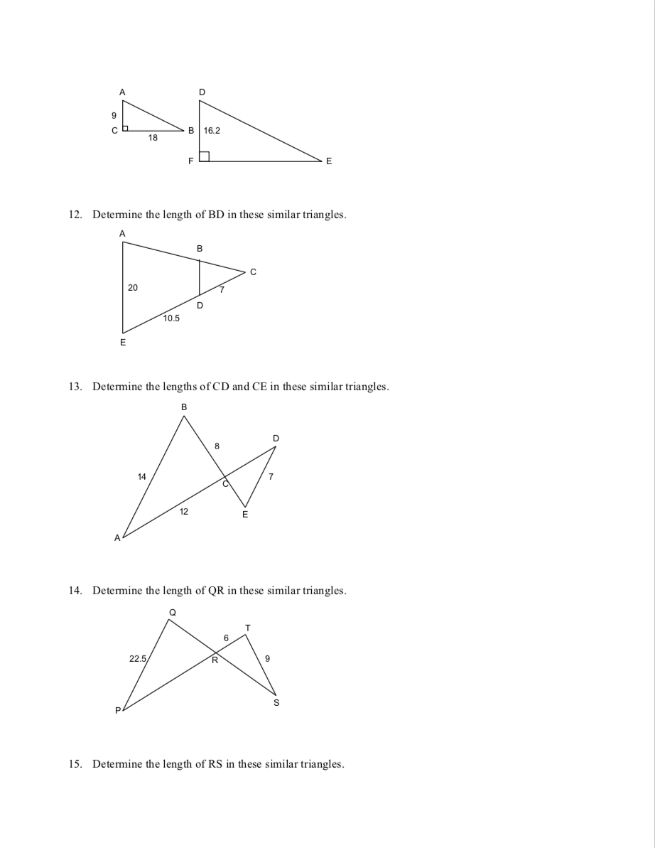 medium resolution of Unit 7.4 - Similar Triangles - JUNIOR HIGH MATH VIRTUAL CLASSROOM