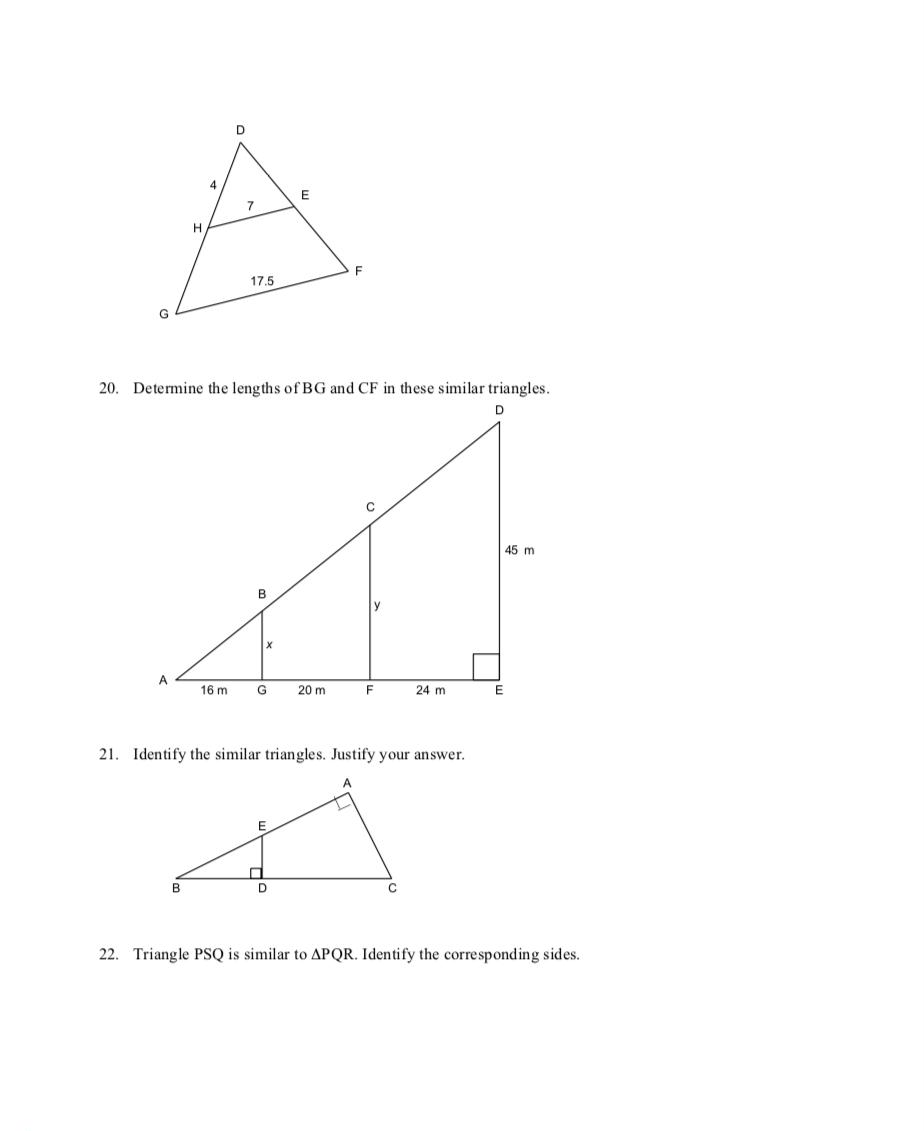 medium resolution of Unit 7.4 - Similar Triangles - JUNIOR HIGH MATH VIRTUAL CLASSROOM