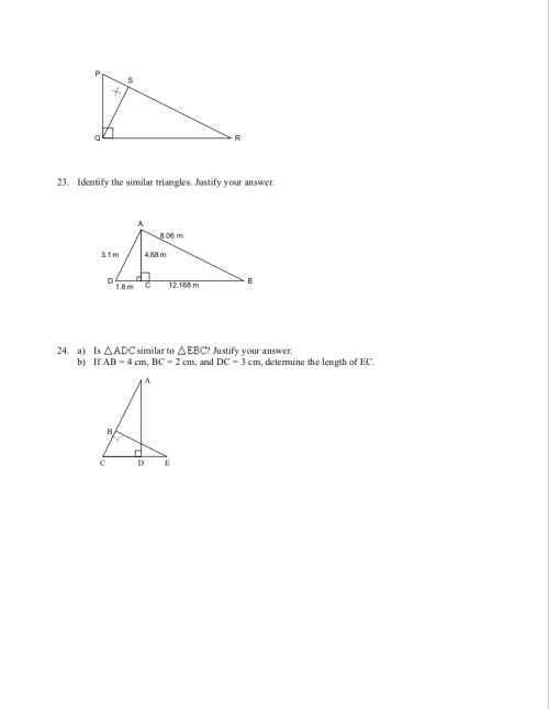 small resolution of Unit 7.4 - Similar Triangles - JUNIOR HIGH MATH VIRTUAL CLASSROOM