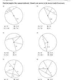 8.2 - Property of Chords in Circles - JUNIOR HIGH MATH VIRTUAL CLASSROOM [ 1172 x 973 Pixel ]