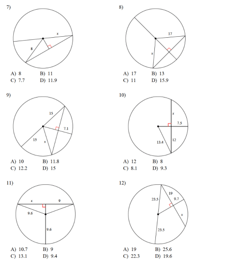 small resolution of 8.2 - Property of Chords in Circles - JUNIOR HIGH MATH VIRTUAL CLASSROOM