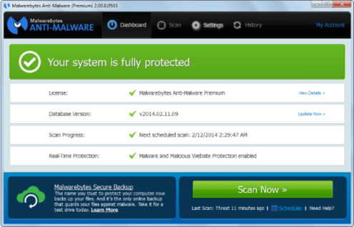 Malwarebytes Anti-Malware 3.0.6 Premium License key