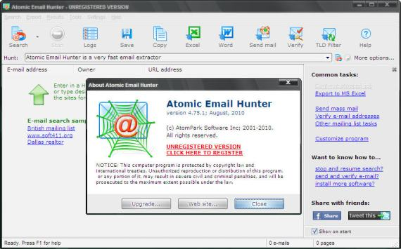 Atomic Email Hunter 11 Crack Full Keygen Download