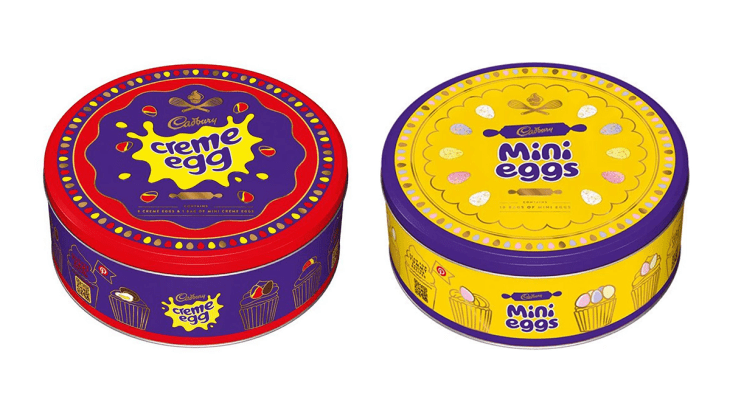 Cadbury Are Selling Creme Egg and Mini Egg Tins For Easter – And They're Only A Fiver