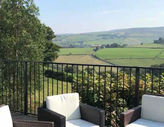 This Modern Lodge With Views Of Colne Valley Is The Perfect Yorkshire Getaway