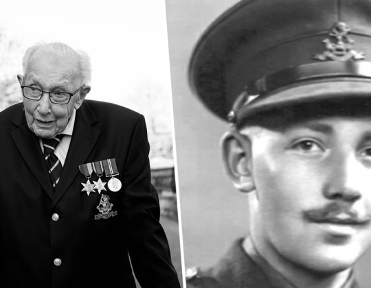 A Documentary About The Life Of Captain Tom Moore Is Coming To ITV