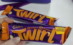 Cadbury Is Bringing Back Its Limited Edition Orange Twirl Bars