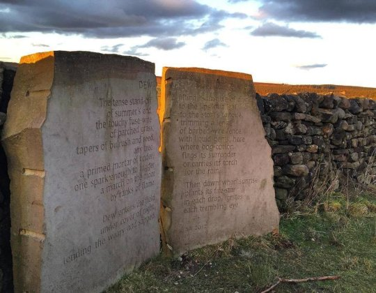 Here's Why There Are Stones With Mysterious Poems On Them Along The Pennines