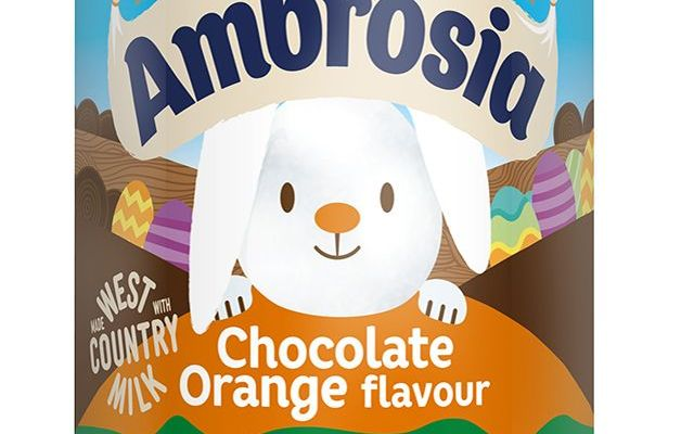 Ambrosia Has Launched A Limited-Edition Chocolate Orange Custard