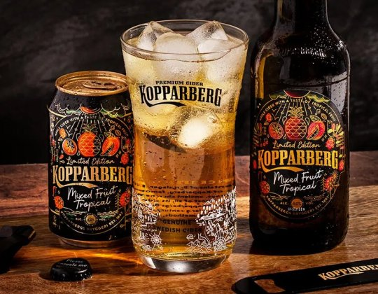Kopparberg Has Launched A New Limited-Edition Mixed Fruit Tropical Cider