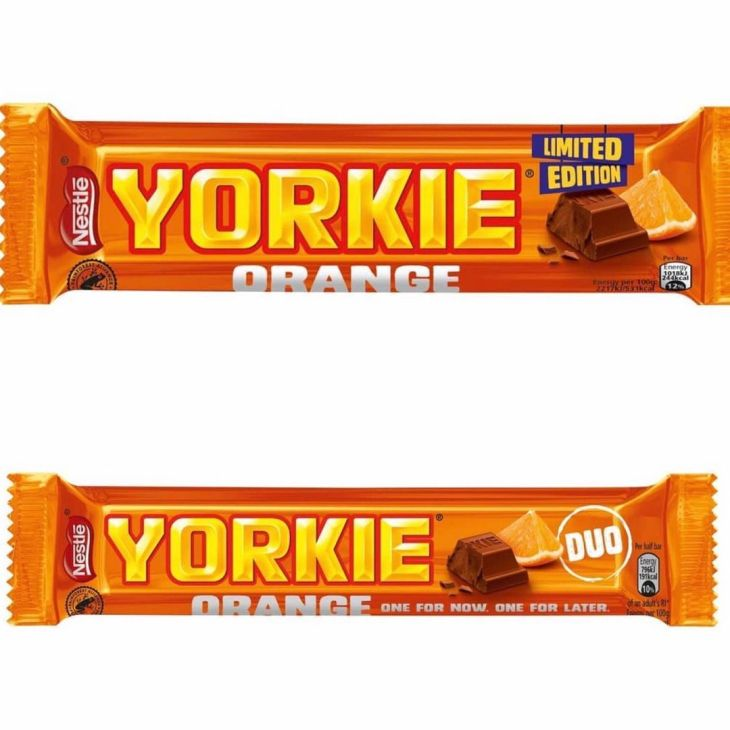 Yorkie Chocolate Orange