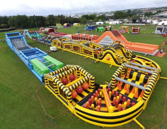 A Giant Inflatable Obstacle Course Is Coming To Yorkshire This Summer