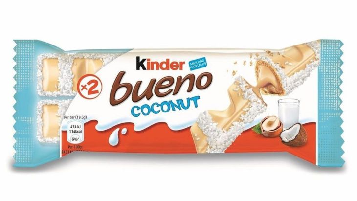 Kinder Bueno White Chocolate & Coconut