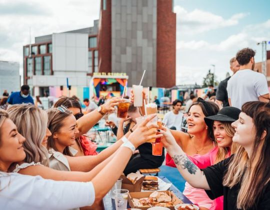 A Huge Rooftop Bottomless Brunch Is Coming To Leeds This Summer