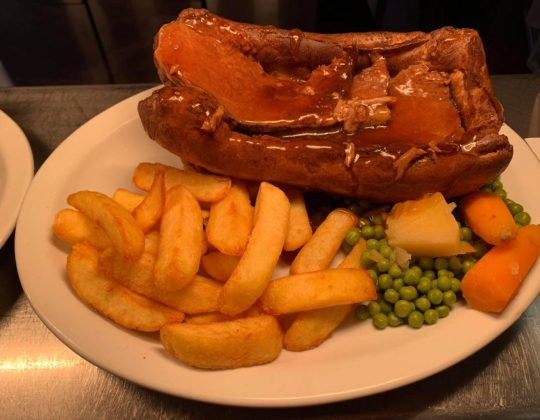 This Yorkshire Pub Is Famous For Its Giant Loaf Tin Yorkshire Puddings