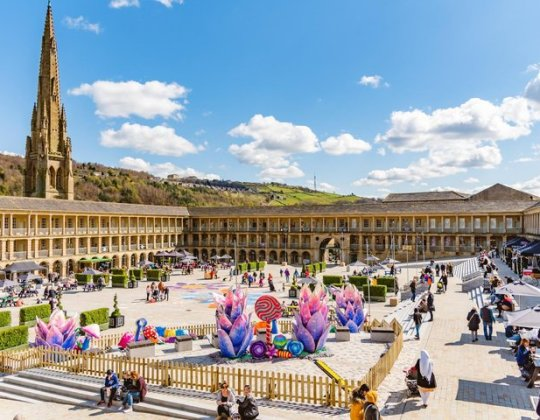 This Famous Yorkshire Attraction Is Transforming Its 18th-Century Courtyard Into A Huge Beach