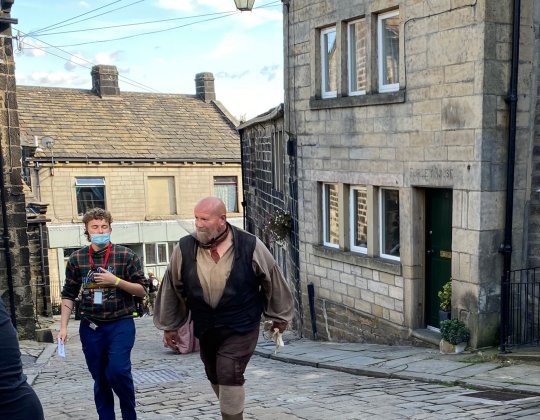 This Yorkshire Village Has Been Transformed For Shane Meadows' New BBC Drama 'The Gallows Pole'