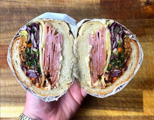 This Sheffield Cafe Serves Up Monster-Sized Sandwiches Packed Full Of Meat