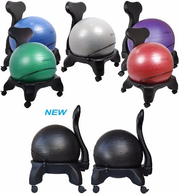 #4 Isokinetics Inc. Balance Exercise Ball Chair