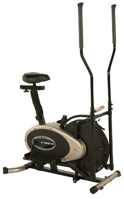 Exerpeutic GOLD Elliptical Trainer and Exercise Bike