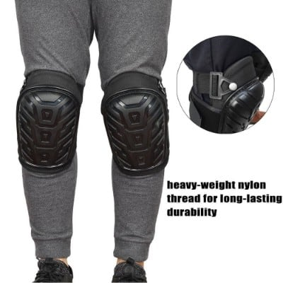 YoungKang Knee Pads Heavy Duty Foam Padding and Comfortable Gel Cushion