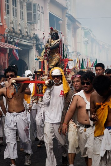Thaipia procession, or small palanquin.