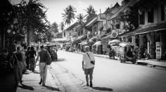 Street scene - tourists