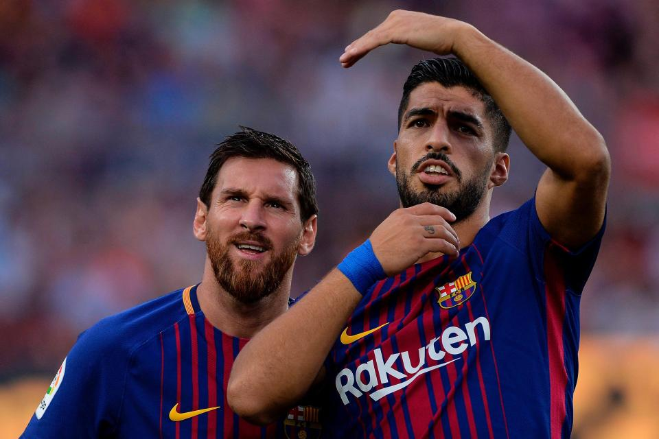 Barcelona eye long-term replacements for Lionel Messi and Luis Suarez!