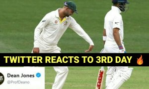 Twiiter Reacts to the 3rd Day as India stretch their lead to 166 Runs